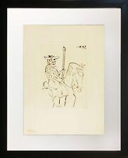 Pablo Picasso Picador au Repos (Picador at Rest) (Framed Original Etching)