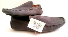 Steve Madden Stitchh-752 men's 9.5 leather upper Textile Lining Grey shoes New