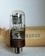 1x ORIGINAL ECC33 Mullard tube from same LOT triode boxed Valve