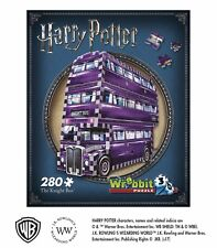 THE KNIGHT BUS, fahrende Ritter Harry Potter 3-D Puzzle 280 Teile WREBBIT (34541
