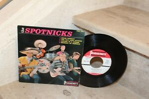 Ep the spotnicks - drum diddley + 3 titres (PRC 615)