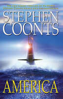 """VERY GOOD"" America, Coonts, Stephen, Book"