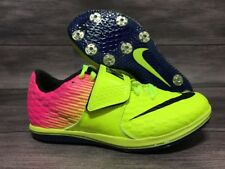 Nike HJ Elite High Jump Shoes Track Field Spikes Men Size 4.5 ( Women 6 ) Volt