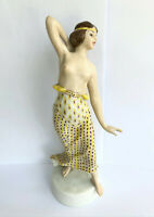 Antique Deco ROSENTHAL B BOEHS Dancer Hand Painted Porcelain Figurine K201 20's