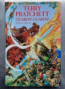 Terry Pratchett GUARDS! GUARDS! (Discworld) Gollancz 1st edition 1989 Hardback