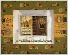 Peru 2019 Block Archäologisches Museum Kulturerbe Anthropologie Teppich MNH