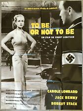 Affiche JEUX DANGEREUX To be or not to be ERNST LUBITSCH Lombard R120x160 *