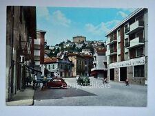 CANELLI Piazza Aosta FIAT 500 Asti vecchia cartolina