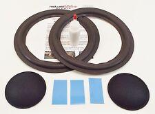 "Infinity SM105 SM112 10"" Woofer Foam Kit Speaker Repair w/ Shims & Dust Caps!"