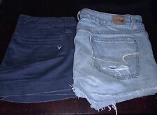 Lot Of 2 Shorts American Eagle Outfitters Womans Girls Juniors Clothes Clothing