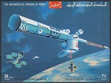 Yemen KGr 1969 ** bl.176 espacio Space Apollo