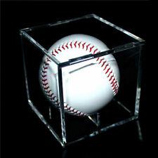 1 Baseball/Billiard Ball Holder Display Case Stand, Acrylic Cover, UV Protection
