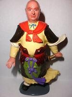 """Rare unique Louis Marx Genghis Khan ? as himself 5.75"""" plastic figure toy"""