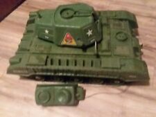 Rare Deluxe Joe Tiger Reading Army Tank Remote Control Untested missing pieces