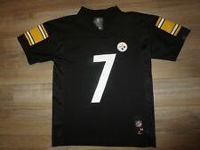 Ben Roethlisberger #7 Pittsburgh Steelers NFL Reebok Jersey Youth M 10-12 medium