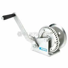 Zinc-Plated Hand Gear Winch Car Boat Webbing 500 Kg Fervi 0070