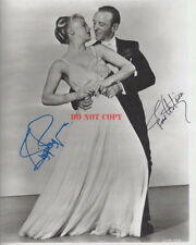 Fred Astaire & Ginger Rogers Signed 8x10 Autographed Photo Reprint