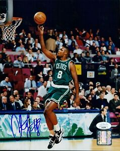 Antoine Walker Boston Celtics Signed 8x10 Glossy Photo JSA Authenticated