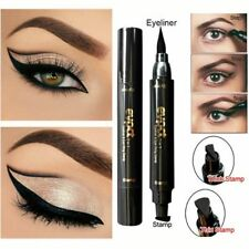 2 IN 1 Style Winged Eyeliner Stamp Waterproof Makeup Eye Liner New Liquid Pencil