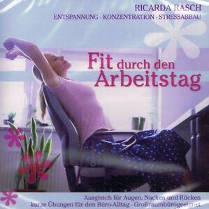 HÖRBUCH-CD NEU/OVP - Fit durch den Arbeitstag - Ricarda Rasch