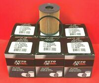 Case of 6 Engine Oil Filters Auto Extra 618-57341 For DODGE,FIAT,JEEP, ch9713
