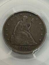 1876 PCGS VF 35 US Twenty Cent Piece 20C