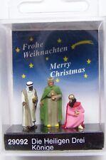 HO Preiser 29092 Three Wise Men / Magi * CHRISTMAS * NATIVITY SCENE FIGURES