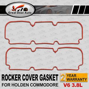 VALVE ROCKER COVER GASKETS FOR HOLDEN COMMODORE V6 VN S2 VG VP VR VS VT VX VU VY