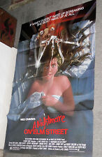 A NIGHTMARE ON ELM STREET original 1984 27x41 one sheet movie poster WES CRAVEN