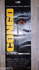 CONGO  !  affiche cinema format pantalon