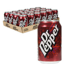 DR PEPPER 330ml X 24 CANS FIZZY DRINKS WHOLESALE RETAIL SUPPLIES CATERING 017673