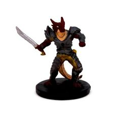 Tyranny of Dragons #36 Half Red Dragon Fighte Dungeons & Dragons Mini Figure D&D