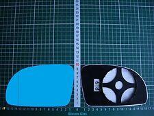 Außenspiegel Spiegelglas Ersatzglas VW New Beetle 97-03 Li o Re asph beheiz Blau