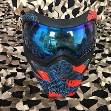 NEW V-Force Grill Thermal Anti-Fog Paintball Mask Goggle - Rising Sun Tiger