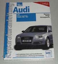 Reparaturanleitung Audi A4 (B6 + B7) Benziner + Diesel / TDI, Bauj. 2000 - 2007