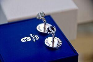 Olympic Games Men's Cufflinks jewellery Beijing 2008 official merchandise in box