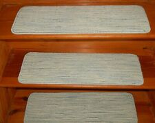"17 Step  9"" x 29""  Stair Treads Step Carpet 55% Wool / 45% Polyester Carpet"