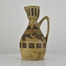 Ceramano Agina Pottery Ceramic Vase WGP Mid Century Modern Fat Lava