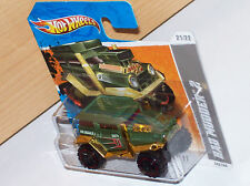 Bad Mudder 2 olive-gold short-card Hot Wheels 03 HW Modell Auto Muscle Car Rod