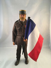 Vintage Action Man Palitoy Bearded Figure French Officer Uniform Group Joe Team
