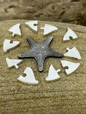 1 oz SILVER STARFISH COIN PUZZLE STUNNING