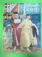 BOOK LIBRO GIOTTO I Classici della Pittura 16 1980 Armando Curcio (L57)