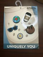 Crocs Jibbitz Cool Trend Charms 5-Pack Outdoor Trend Package Boys Girls NEW *A