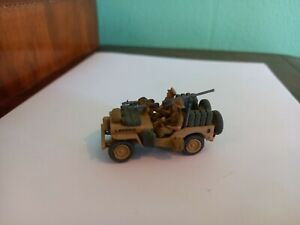 Built and Painted 1/72 WW2 LRDG Jeep