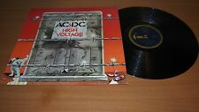 AC/DC High Voltage 1975 Aussie 1st Press LP Vinyl Blue Roo Broonzy OOP NM/VG++