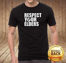 >> BMW RESPECT YOUR ELDERS New Stylish 100% Cotton T-Shirt T Shirt Tshirt <<