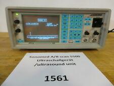 Sonomed A/B Scan 5500 Ultraschallgerät /ultrasound unit aus Praxisauflösung