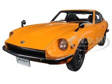1969 NISSAN FAIRLADY Z432 (PS30) ORANGE 1/18 DIECAST MODEL CAR BY AUTOART 77436