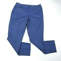 Greg Norman Womens Golf Pants Size 8 Stretch Blue Performance Fabric $89 NEW
