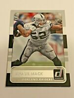 2015 Panini Donruss Football Base Card - Khalil Mack - Oakland Raiders